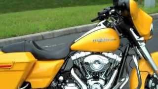 New 2013 Chrome Yellow Harley-Davidson Street Glide FLHX