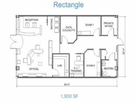 Optical Office Design Secrets 1 Floor Plan Layouts