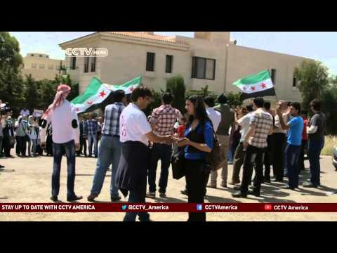 Syria Eection: Refugees Vote in Lebanon and Jordan