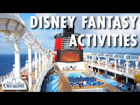 Disney Fantasy Review: Activities -- Disney Cruise Line -- Cruise Ship Review