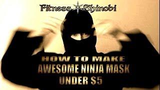 How To Make Your Own Balaclava / Protible Ninja Mask