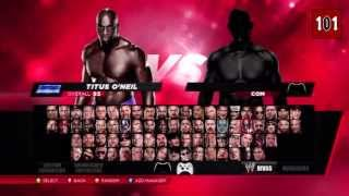 WWE 2K14 Fully Unlocked Roster (Superstars, Divas