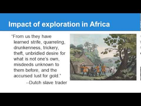 Impact of Exploration   Africa and Asia