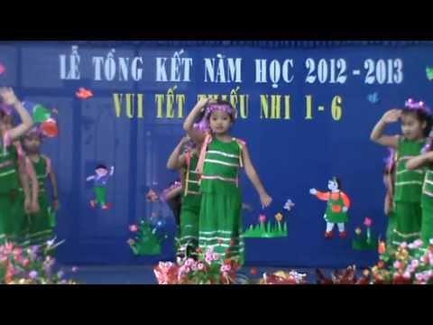 mẫu giáo ánh dương phan rang- múa cô giáo em là hoa ê-ban 2013