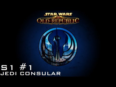 Star Wars: The Old Republic - JEDI CONSULAR [Level 1-4] - S1 Episode 1: A New Life...