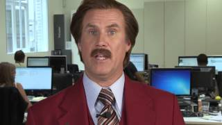 Anchorman 2's Ron Burgundy on the Console War