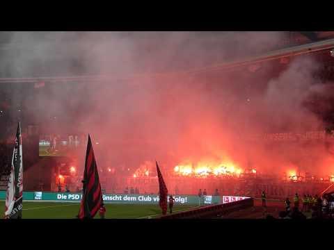 Pyroshow 1. FC Nürnberg vs. VFB Stuttgart 26.03.14