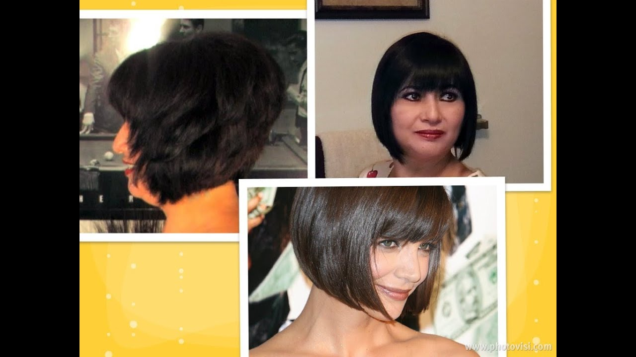 how to cut bob cut at home