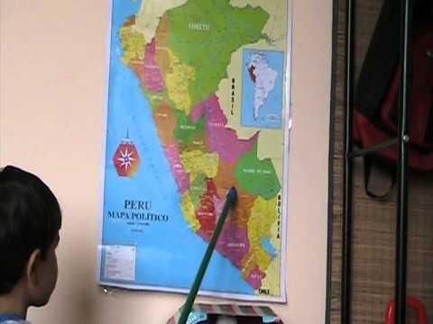 Matias Chang (Mostrando los Departamentos del Perú)