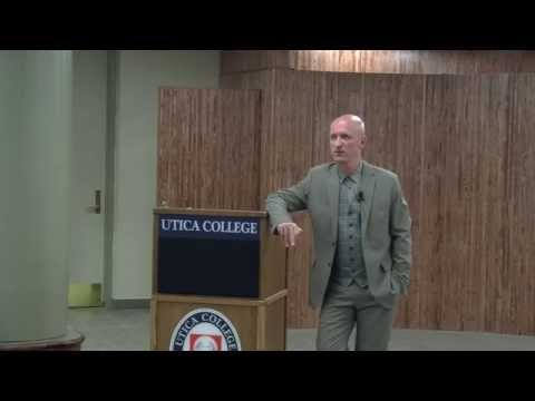 The Applied Ethics Institute at Utica College Presents Udo Schuklenk