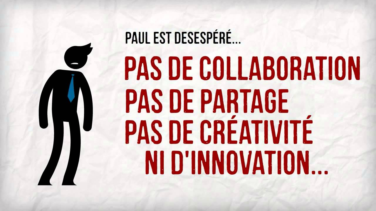 Open innovation collaboration partage