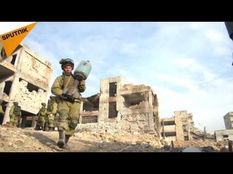 شاهد.. ماذا وجد الجيش الروسي بحلب ...