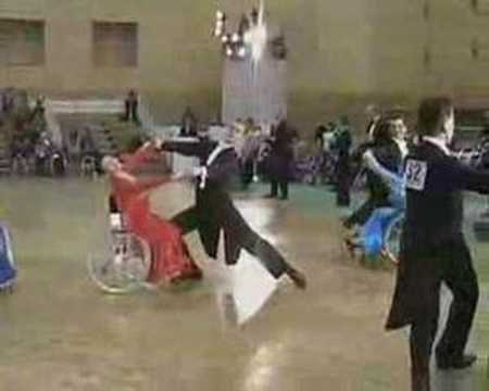 Wheelchair Dance Competion