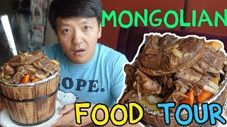 TRADITIONAL Mongolian Food Guide in Ulaanbaatar Mongolia