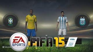 FIFA 15 Juego Completo Menús, Modos De Juego Equipos