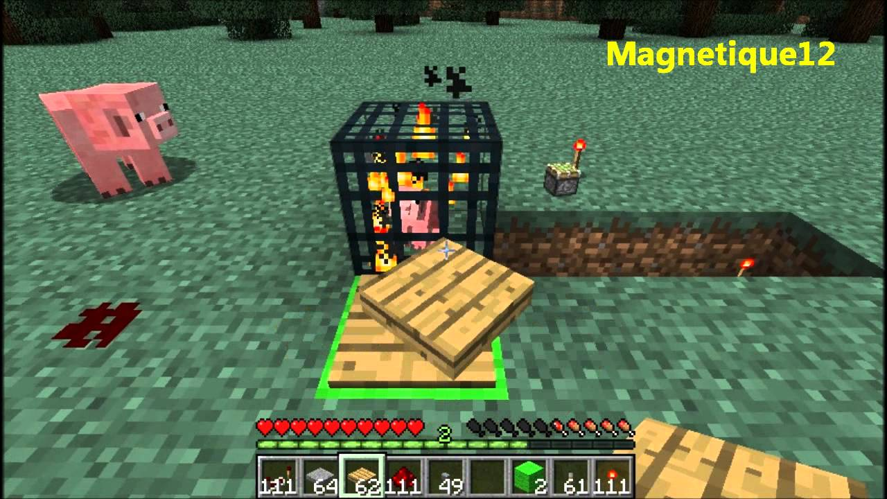 Minecraft how to make a spawner cage xbox 360 4gb