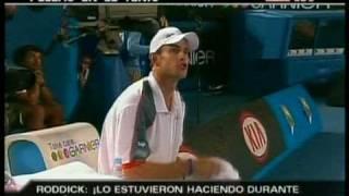 Peleas en tenis