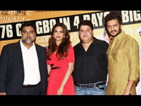 'Humshakals' Success Bash | Riteish Deshmukh, Esha Gupta, Ram Kapoor, Sajid Khan