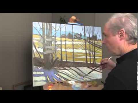 Tranh sơn dầu đẹp, Kỹ thuật vẽ tranh sơn dầu của Brian Keeler