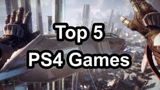 [Top 5 - Playstation 4 games (That were shown at NYC PS4 even...]