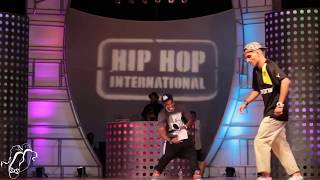 Larry Vs Majid All Styles Semi's Hip Hop Int