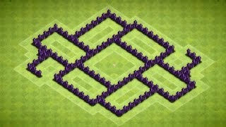 Clash Of Clans Great Town Hall 6 Farming Base (The