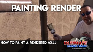 How to paint over render