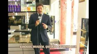 Bandidos deixam preju�zo de cinco mil reais em loja de perfumes de Alfenas