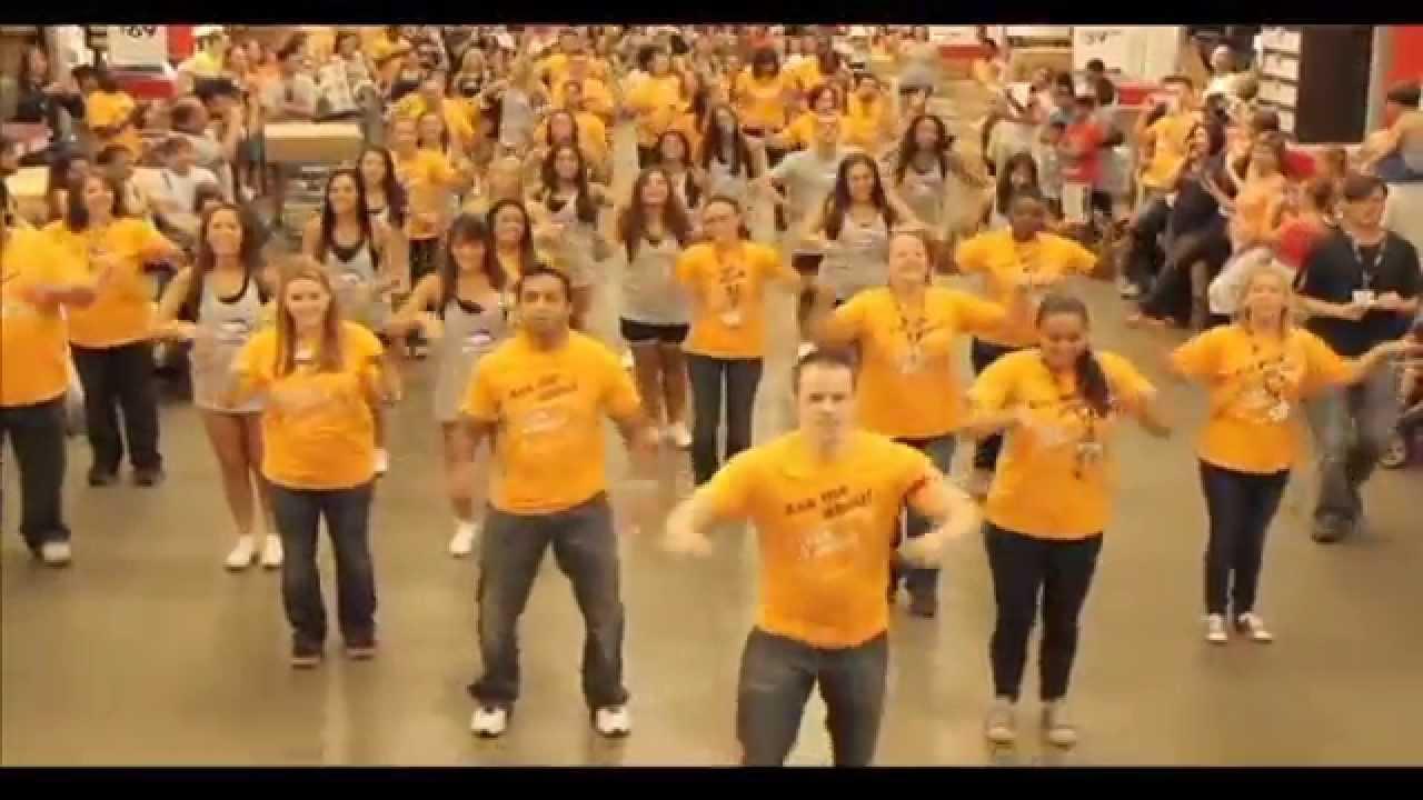 Ikea Long Island Party Rock Flash Mob 2012 HD