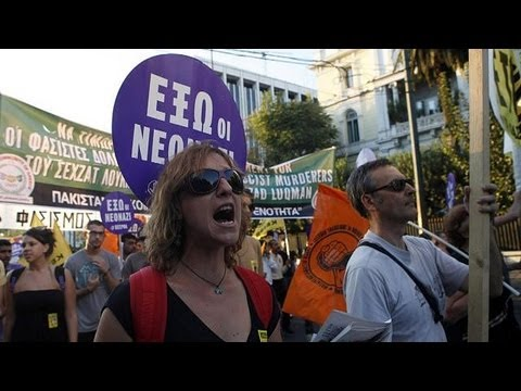 Anti-Golden Dawn protest ends in violence in Greece