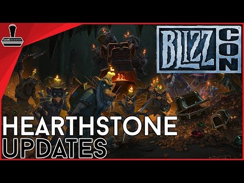 GameGorgon: Blizzcon 2017 Hearthstone Updates