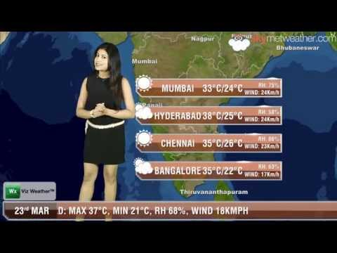 23/03/14 - Skymet Weather Report for India