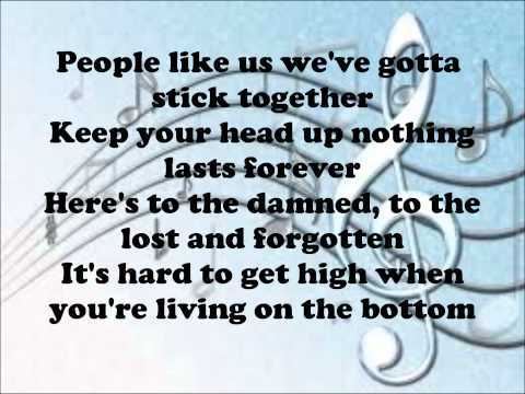 Kelly Clarkson - People Like Us Lyrics