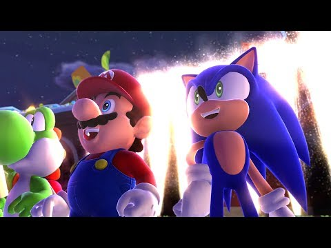 Mario & Sonic at the Sochi 2014 Olympic Winter Games - Playthrough [Part 1 - Leg. Showdown - Area 1]