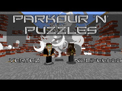 Minecraft Escape - Parkour 'n' Puzzles Escape (Nolifee666 & Vertez) HD PL