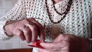Video Meia De Lã Sem Costura Em Tricô
