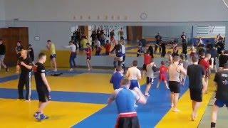 Відкрите тренування з таїландського боксу для учнівської молоді