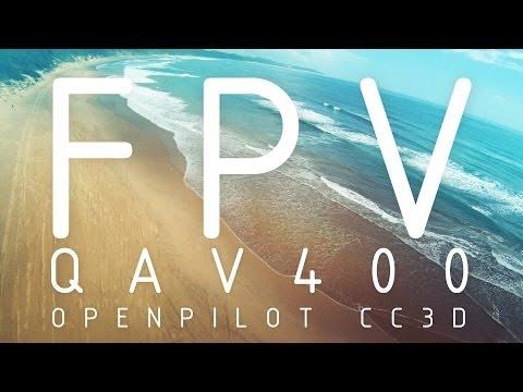 QAV400 FPV   Sodwana Bay