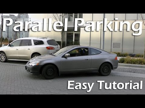 Како да го паркирате автомобилот во 4 чекори?