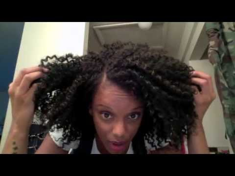Crochet Braid/Hair Tutorial using FreeTress - YouTube