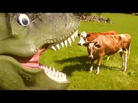 TYRANNOSAURUS REX - music video for kids. Dinosaur Songs by Daddy Donut - T-rex