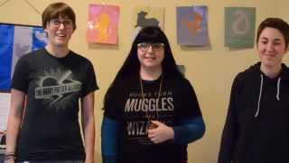 Project For Awesome from the Asheville Harry Potter Alliance!
