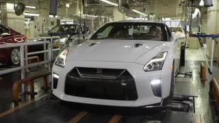 2017 Nissan GT-R at Nissan Tochigi factory