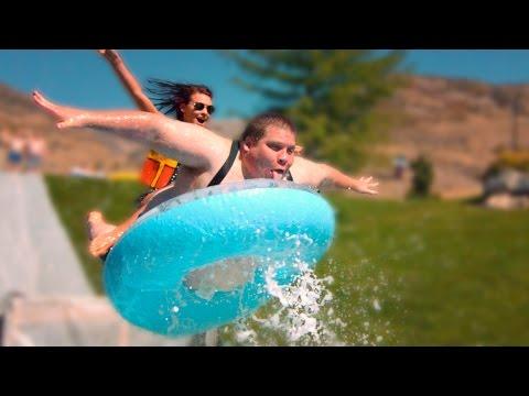 超歡樂滑水道~讓人很想一起玩啊!