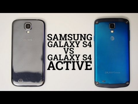 Samsung Galaxy S4 vs Galaxy S4 Active, If you wanted a sier, better feeling Galaxy S4, perhaps its tougher variant will do the trick for you. Josh shows you what's what with the Samsung Galaxy...