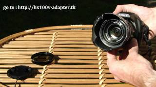 SONY HX100V And HX200V Filter Adapter Ring, Adapterring