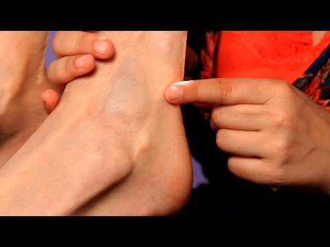 How to Relieve Hip & Knee Pain | Reflexology