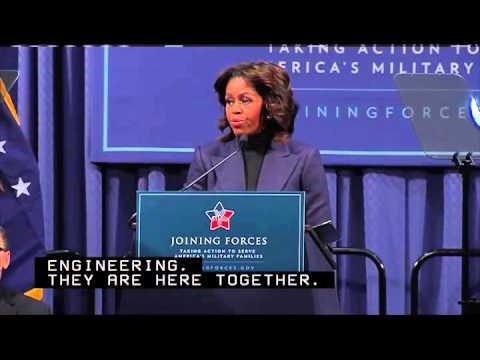 Michelle Obama talks NCCER