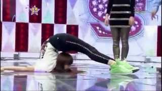 F(x) Victoria Vs a Girl Flexibility