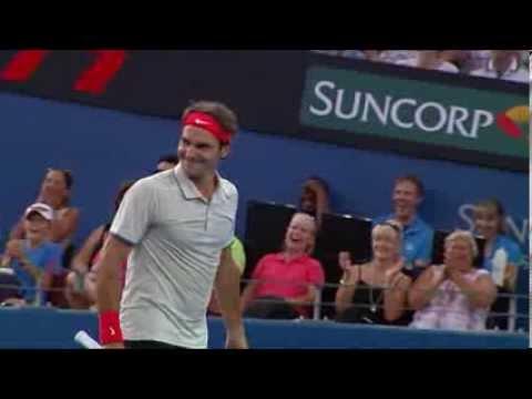 Le coup de génie de Roger Federer